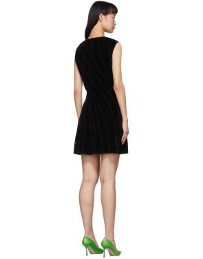 photo Black Spiral Dress by Mugler - Image 3