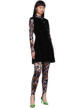 photo Black Spiral Dress by Mugler - Image 5