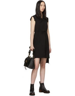 photo Black Embellished T-Shirt Dress by See by Chloe - Image 5