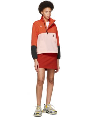 photo White and Red Limited Edition Colorblock Tiger Dress by Kenzo - Image 5