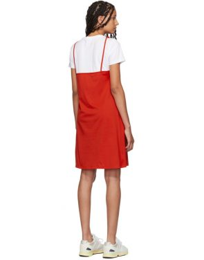 photo Red T-Shirt Mini Dress by Kenzo - Image 3