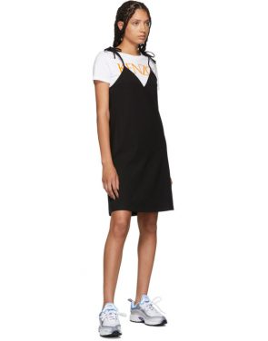 photo Black T-Shirt Mini Dress by Kenzo - Image 5