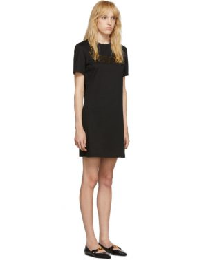 photo Black Logo Dress by Versace - Image 2
