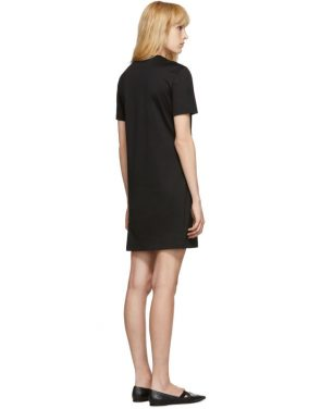 photo Black Logo Dress by Versace - Image 3