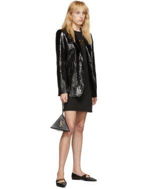 photo Black Logo Dress by Versace - Image 5
