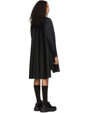 photo Black Tie Collar Shirting Dress by Sacai - Image 3