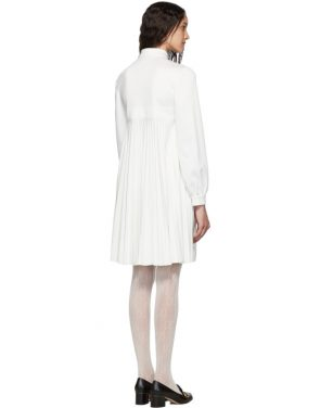 photo White Pleated Tennis Dress by Gucci - Image 2
