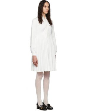 photo White Pleated Tennis Dress by Gucci - Image 3