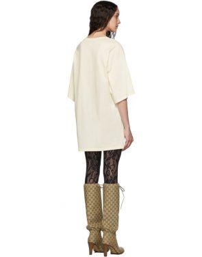 photo Off-White Oversized T-Shirt Dress by Gucci - Image 3
