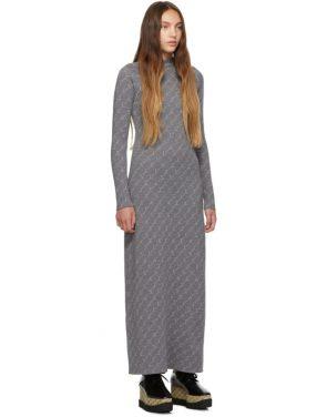 photo Grey Monogram Dress by Stella McCartney - Image 2