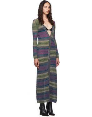 photo Purple Stripe La Robe Gilet Dress by Jacquemus - Image 2