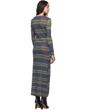 photo Purple Stripe La Robe Gilet Dress by Jacquemus - Image 3