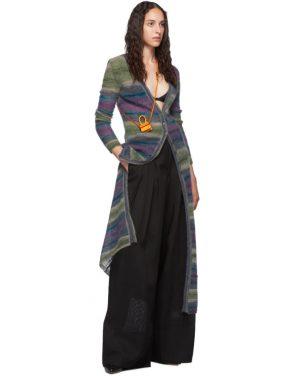 photo Purple Stripe La Robe Gilet Dress by Jacquemus - Image 5