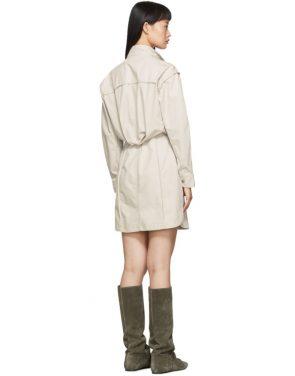 photo Off-White Linore Dress by Isabel Marant Etoile - Image 3