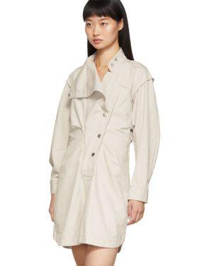 photo Off-White Linore Dress by Isabel Marant Etoile - Image 4