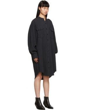 photo Black Jasia Dress by Isabel Marant Etoile - Image 2