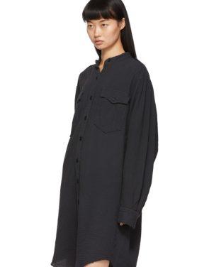 photo Black Jasia Dress by Isabel Marant Etoile - Image 4