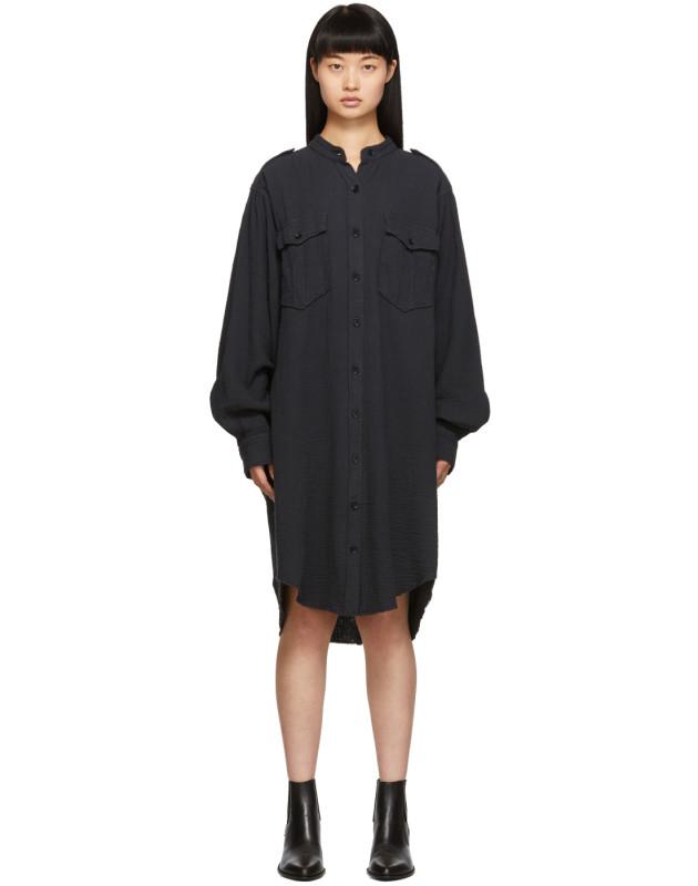 photo Black Jasia Dress by Isabel Marant Etoile - Image 1
