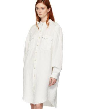 photo White Jasia Dress by Isabel Marant Etoile - Image 4
