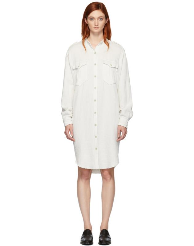 photo White Jasia Dress by Isabel Marant Etoile - Image 1