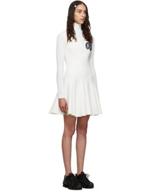 photo White Cheerleader Multiwaves Dress by Off-White - Image 2
