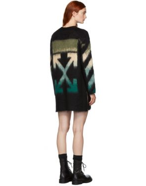 photo Black and Blue Arrows Dress by Off-White - Image 3