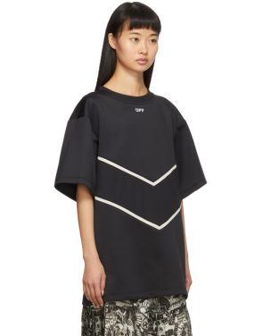 photo Black and White Intarsia Sweatshirt Dress by Off-White - Image 2