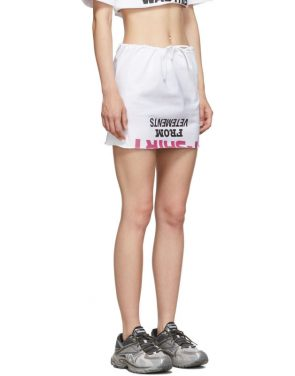 photo White Happy Birthday T-Shirt Dress Set by VETEMENTS - Image 4