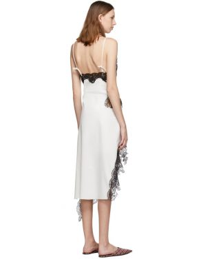 photo White Lace Slip Dress by Marques Almeida - Image 3