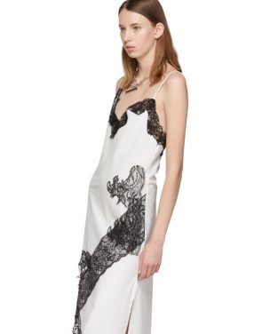 photo White Lace Slip Dress by Marques Almeida - Image 4
