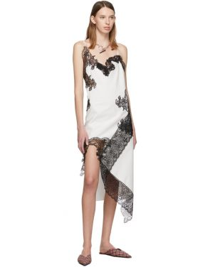 photo White Lace Slip Dress by Marques Almeida - Image 5