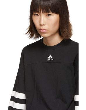 photo Black Sports ID Dress by adidas Originals - Image 4