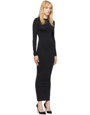 photo Black Seamless Dress by Unravel - Image 2