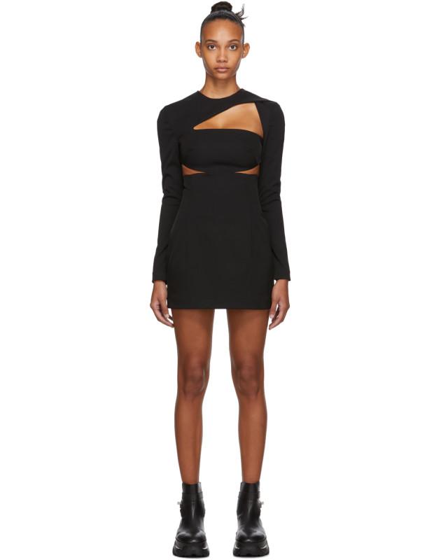 photo Black Cut-Out Dress by 032c - Image 1