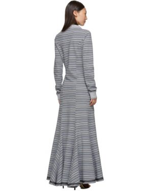 photo Grey Stripe Polo Dress by Y/Project - Image 3