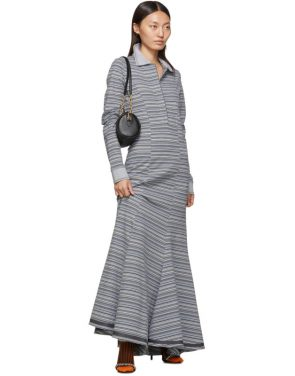 photo Grey Stripe Polo Dress by Y/Project - Image 5
