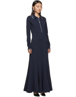 photo Navy Polo Dress by Y/Project - Image 2