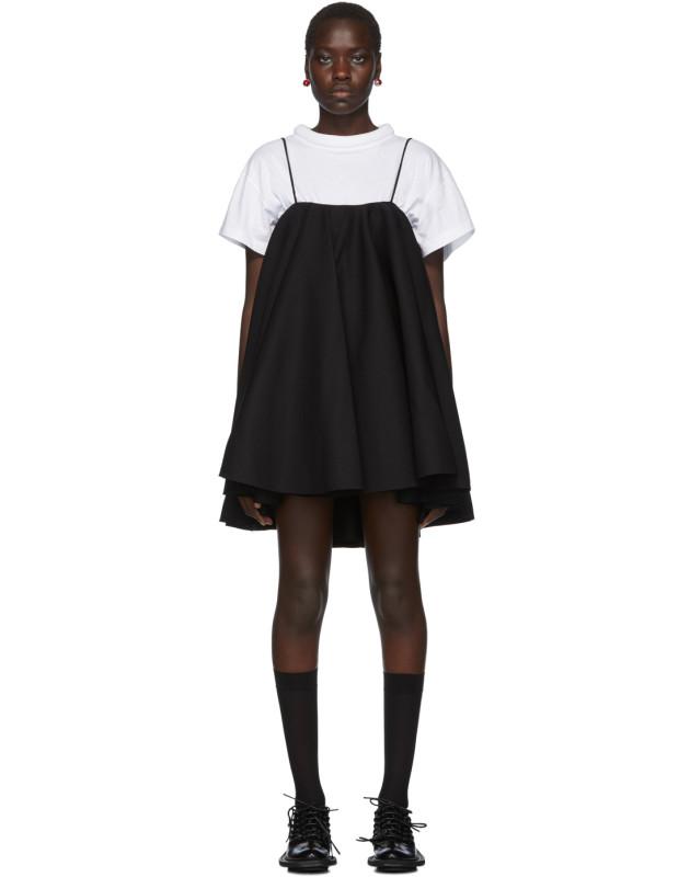 photo Black Strap Dress by Shushu/Tong - Image 1