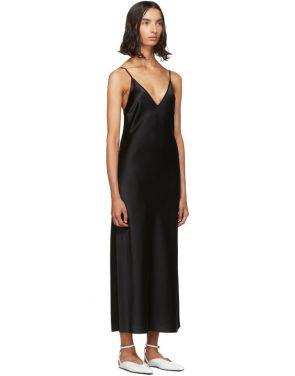 photo Black Silk Clea Dress by Joseph - Image 2