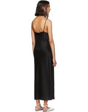 photo Black Silk Clea Dress by Joseph - Image 3