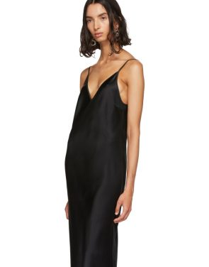 photo Black Silk Clea Dress by Joseph - Image 4