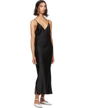 photo Black Silk Clea Dress by Joseph - Image 5