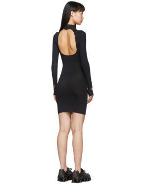photo Black Style Turtleneck Dress by Heron Preston - Image 3