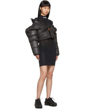 photo Black Style Turtleneck Dress by Heron Preston - Image 5