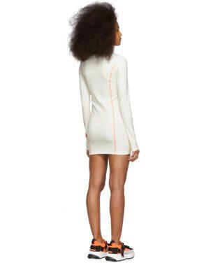 photo White and Orange Style Active Dress by Heron Preston - Image 3