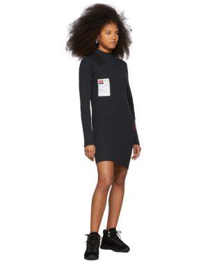 photo Black Rib Dress by Heron Preston - Image 5